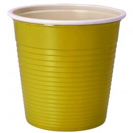 Plastic Shot PS Bicolour Yellow 230 ml (690 Units)