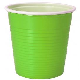 Plastic Shot PS Bicolour Yellow Green 230 ml (690 Units)