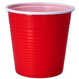 Plastic Shot PS Red 230 ml (30 Units)