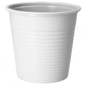 Plastic Shot PS White 230 ml (30 Units)