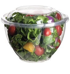 Salad Bowl with Lid PLA 1420ml (150 Units)