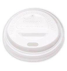 Lid for Paper Cup Hole White 6Oz/8Oz Ø7,0cm (1000 Units)