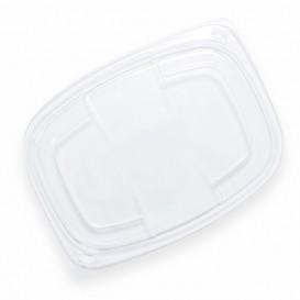 Plastic Lid Transparente Container OPS 1050/1250ml 25,5x18,9x2cm (20 Units)