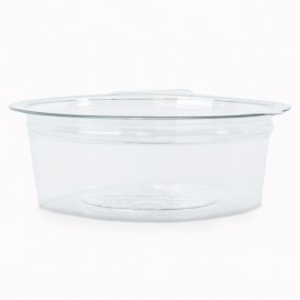 Plastic Container APET Round shape Transparente 50ml Ø7cm (50 Units)