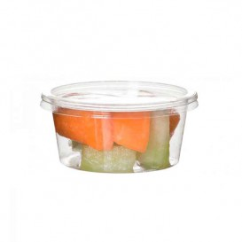 Tub Deli Container PLA Clear Compostable 145ml (2000 Units)