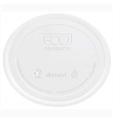 Lid for Tub Deli Container PLA Clear Compostable 145ml (100 Units)