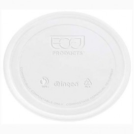 Lid for Tub Deli Container PLA Clear Compostable 145ml (2000 Units)