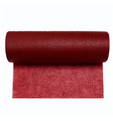 Non-Woven PLUS Tablecloth Roll Burgundy 0,4x50m P30cm (1 Unit)