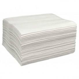 Disposable Spunlace Towel for Manicure Pedicure White 40x80cm 43g/m² (700 Units)