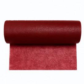 Non-Woven PLUS Tablecloth Roll Burgundy 1,2x50m P40cm (1 Unit)