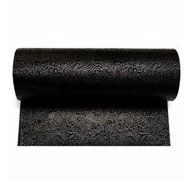 Non-Woven PLUS Tablecloth Roll Black 1,2x50m P40cm (1 Unit)
