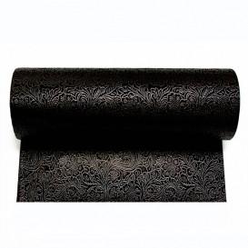Non-Woven PLUS Tablecloth Roll Black 1x50m (6 Units)