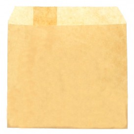 Paper Fries Envelope Grease-Proof Kraft 12x12cm (3000 Units)