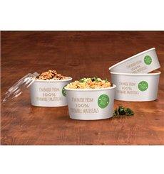 Paper Salad Bowl White Medium size 775ml (360 Units)