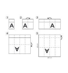Pocket Fold Paper Napkins Cow Boys Green 40x40cm (960 Units)