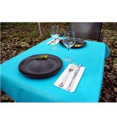 Non-Woven PLUS Tablecloth Turquoise 100x100cm (100 Units)