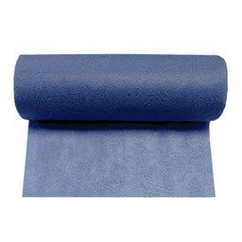 Non-Woven PLUS Tablecloth Roll Blue 1,2x45m P40cm (6 Units)