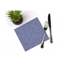 "Paper Napkin Double Point ""Cow Boys Blue"" 40x40cm (50 Units)"