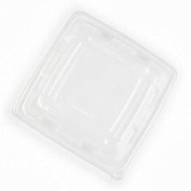 Plastic Dome Lid PP for Container 23x23cm (300 Units)