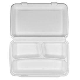 """Sugarcane """"MenuBox"""" Container 3C 38x48,3x6,15cm (50 Units)"""
