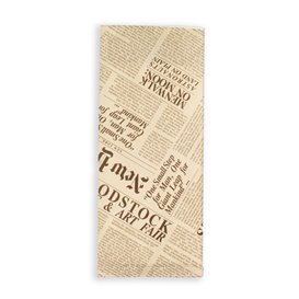 """Paper Cutlery Envelopes with Napkin """"New York Times"""" (125 Units)"""