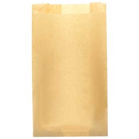 Paper Burger Bag Grease-Proof Burger Design Kraft 14+7x24cm (250 Units)