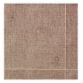 """Paper Napkin Double Point """"Burlap"""" Kraft 40x40cm (50 Units)"""