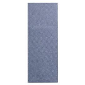 Pocket Fold Paper Napkins Cow Boys Blue 30x40cm (30 Units)
