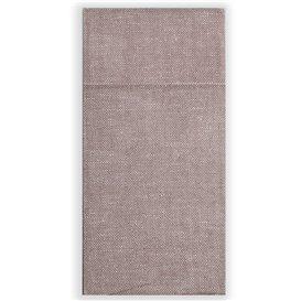 Pocket Fold Paper Napkins Cow Boys Brown 30x40cm (30 Units)