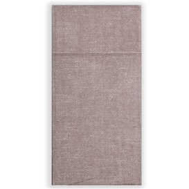 Pocket Fold Paper Napkins Cow Boys Brown 30x40cm (1200 Units)