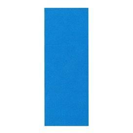Pocket Fold Paper Napkins Turquoise 30x40cm (1200 Units)