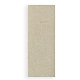 Pocket Fold Paper Napkins Cow Boys Cream 30x40cm (30 Units)