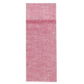 Pocket Fold Paper Napkins Cow Boys Burgundy 30x40cm (1200 Units)