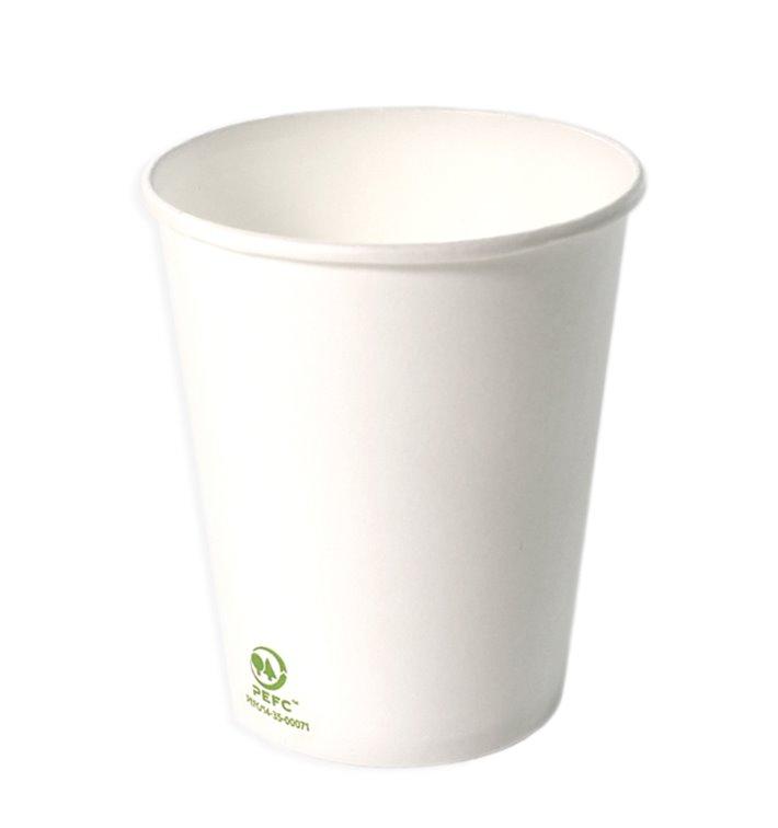 Paper Cup White 6Oz/180ml Ø7,0cm (3000 Units)