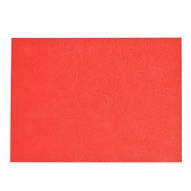 Non-Woven PLUS Placemat Red 30x40cm (400 Units)