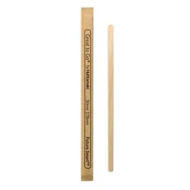 Wooden Coffee Stirrer Wrapped 17,8cm (1000 Units)
