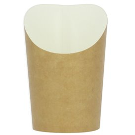 Paper Container Kraft Effect Anti-Grease Small Cup (55 Units)