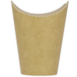 Paper Container Kraft Effect Anti-Grease 16Oz/480ml (50 Units)