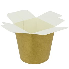 Paper Take-Out Container 100% ECO Kraft 16Oz/480ml (50 Units)
