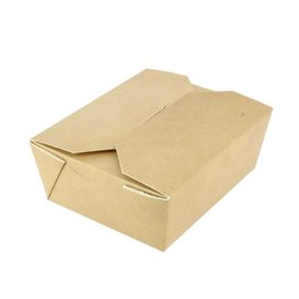 American Box Small Kraft 10,7x8,65x4,5cm 400ml (400 Units)