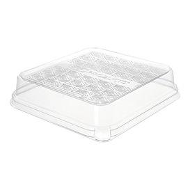 Plastic Lid for Sugarcane Food Container 18,5x18,5cm (50 Units)