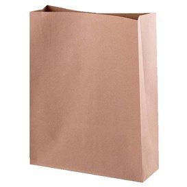 Paper Bag without Handle Kraft 26+9x31cm (25 Units)