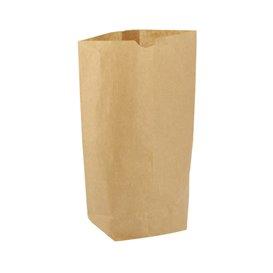 Paper Bag with Hexagonal Base Kraft 23x35cm (50 Units)