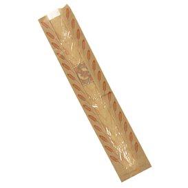 """Paper Food Bag """"Espigas"""" 9+5x50cm (125 Units)"""