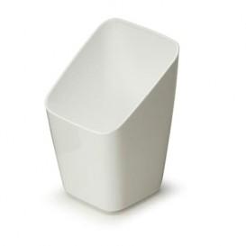 Plastic Tasting Cup PS White 4x4x7cm (20 Units)