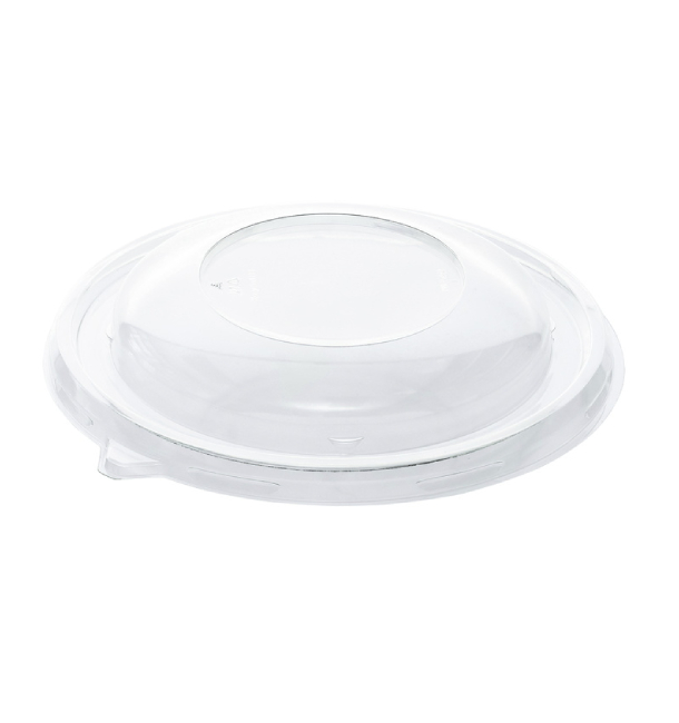 Plastic Dome Lid rPET Crystal Ø21x3cm (25 Units)