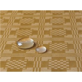 Tablecloth Roll Waterproof Gold 1,2x5m (10 Units)