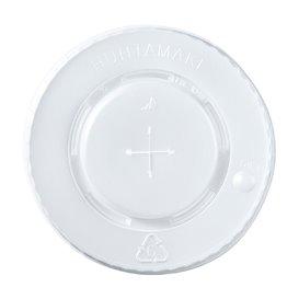 Lid for Cup PS Cross 8, 9, 12 Oz 375 ml Ø8,0cm (100 Units)