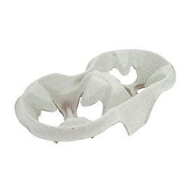 Paper Cup Carrier 2 Slots (20 Units)