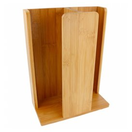 Bamboo Cup and Lid Organizer 23x12x30cm (1 Unit)